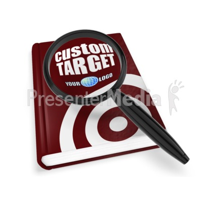 Book Magnify Presentation clipart