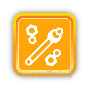 ID# 16806 - Construction Tools - Presentation Clipart