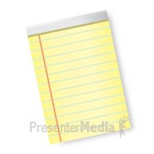 ID# 16822 - Paper - Presentation Clipart