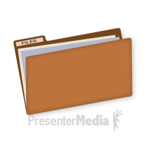 ID# 16827 - File Folder - Presentation Clipart