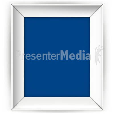 Front Picture Frame PowerPoint Clip Art