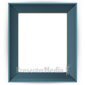 ID# 16896 - Picture Colored Frame - Presentation Clipart