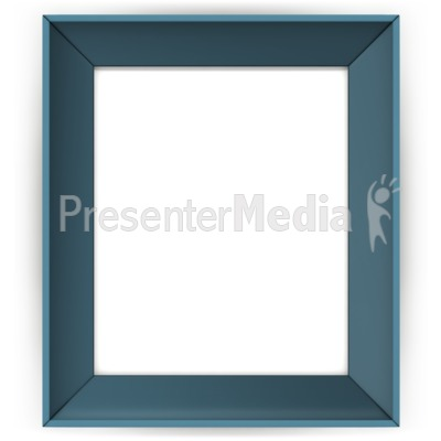 Picture Colored Frame PowerPoint Clip Art