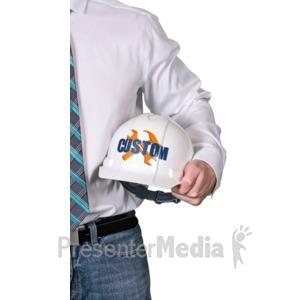 ID# 16902 - Foreman Hard Hat Custom - Presentation Clipart