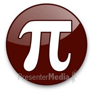 ID# 16976 - Pi Sign - Presentation Clipart