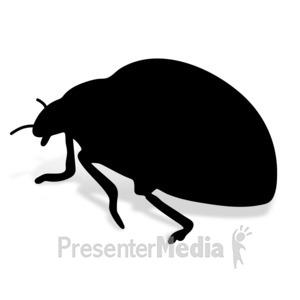 ID# 17014 - Lady Bug - Presentation Clipart