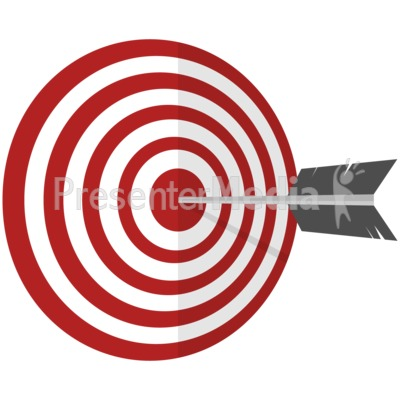 On Target Presentation clipart