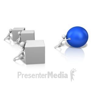 ID# 17071 - Superior Idea - Presentation Clipart
