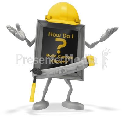 Carpenter Question Presentation clipart