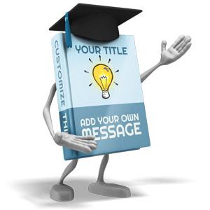 ID# 17155 - School Book Presenter - Presentation Clipart