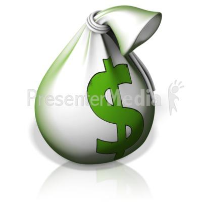 Money Bag PowerPoint Clip Art