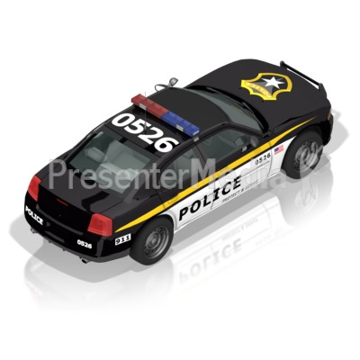 Police Car Back Presentation Clipart Great Clipart For