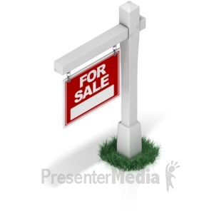 ID# 17323 - Real Estate Sign - Presentation Clipart
