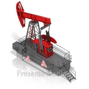 ID# 17491 - Oil Rocker - Presentation Clipart