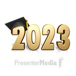 ID# 17629 - Custom Text Graduation - Presentation Clipart