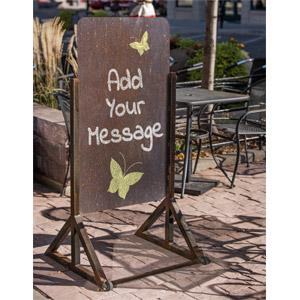 ID# 17774 - Outdoor Retailer Sign Custom - Presentation Clipart