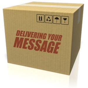 ID# 17859 - Cardboard Box Custom - Presentation Clipart