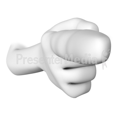 Figure Pointing Finger - Presentation Clipart - Great Clipart for ...
