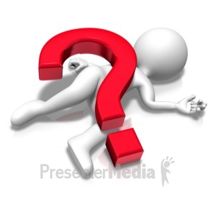 ID# 17894 - Questioned To Death - Presentation Clipart