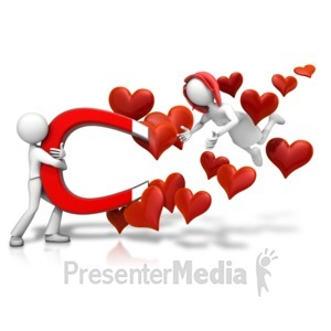 ID# 18105 - Love Attraction Female - Presentation Clipart