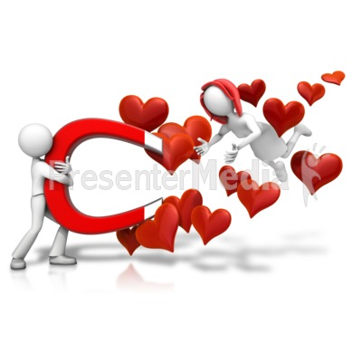 Love Attraction Female PowerPoint Clip Art