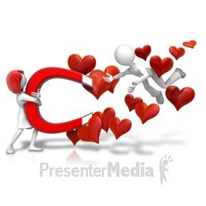 ID# 18106 - Love Attraction Male - Presentation Clipart