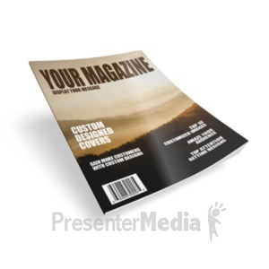 ID# 18438 - Single Magazine - Presentation Clipart