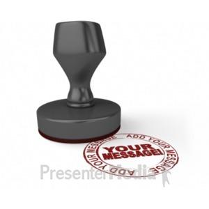 ID# 18494 - Radial Stamper - Presentation Clipart