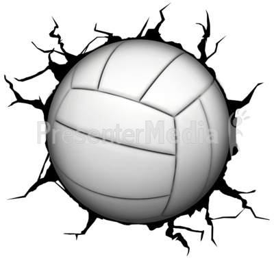Crack wall volleyball presentation clipart great clipart for crack wall volleyball powerpoint clip art toneelgroepblik Images