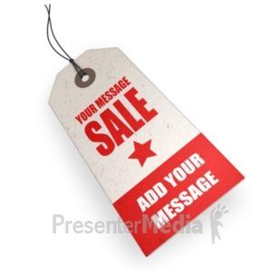 ID# 18823 - Price Tag Custom - Presentation Clipart
