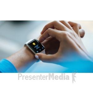 ID# 19000 - SmartWatch - Presentation Clipart