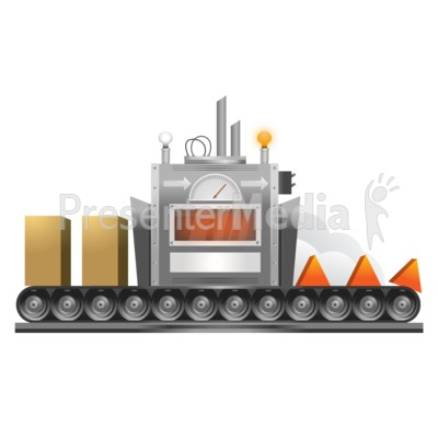 Process Machine Conversion PowerPoint Clip Art