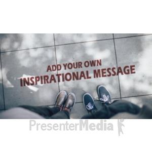 ID# 19083 - Sidewalk Writing - Presentation Clipart