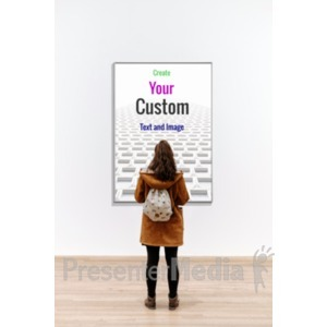 ID# 19125 - Picture Your Gallery - Presentation Clipart