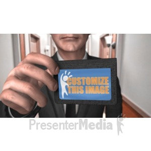 ID# 19144 - Hallway Id Focus Custom - Presentation Clipart