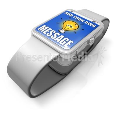 Smart Watch Custom Presentation clipart