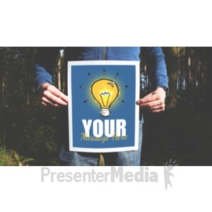 ID# 19322 - Picture In Forest - Presentation Clipart