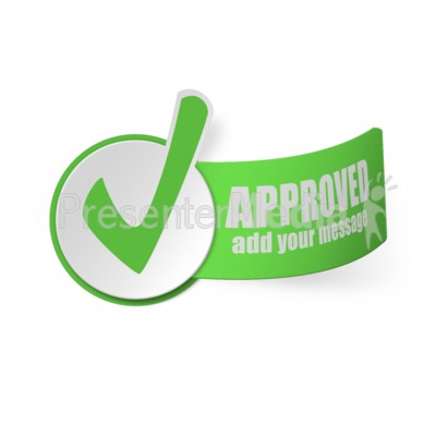 Paper Checkmark Presentation clipart