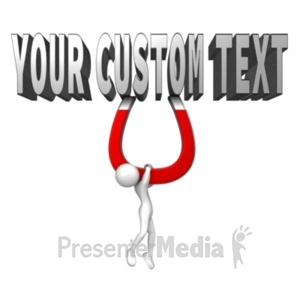 ID# 19428 - Word Magnet Attraction - Presentation Clipart