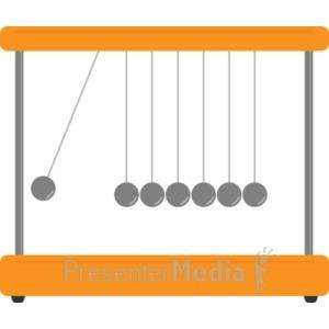 ID# 19430 - Pendulum - Presentation Clipart