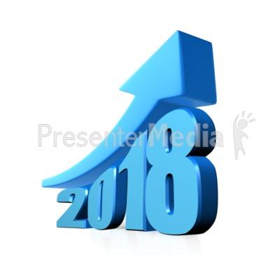 Custom Year Growth PowerPoint Clip Art