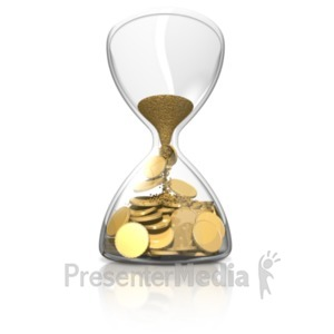 ID# 19710 - Time Is Money - Presentation Clipart