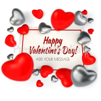 Valentine Card Presentation clipart