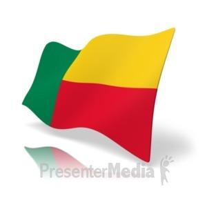 ID# 19808 - Flag Benin - Presentation Clipart