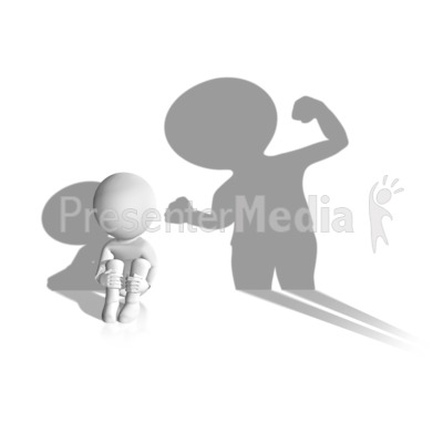 Child Abuse Shadow PowerPoint Clip Art
