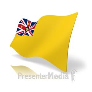 ID# 19921 - Flag Niue - Presentation Clipart