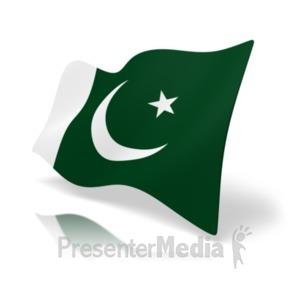 ID# 19941 - Flag Pakistan - Presentation Clipart
