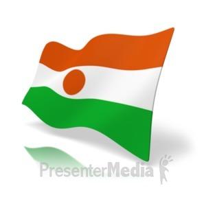 ID# 19947 - Flag Niger - Presentation Clipart