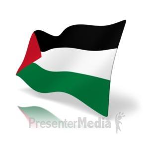 ID# 19948 - Flag Palestine - Presentation Clipart
