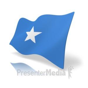 ID# 19992 - Flag Somalia - Presentation Clipart